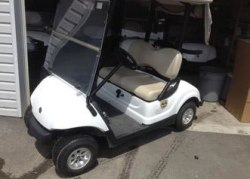 2009 Yamaha Drive gas golf cart